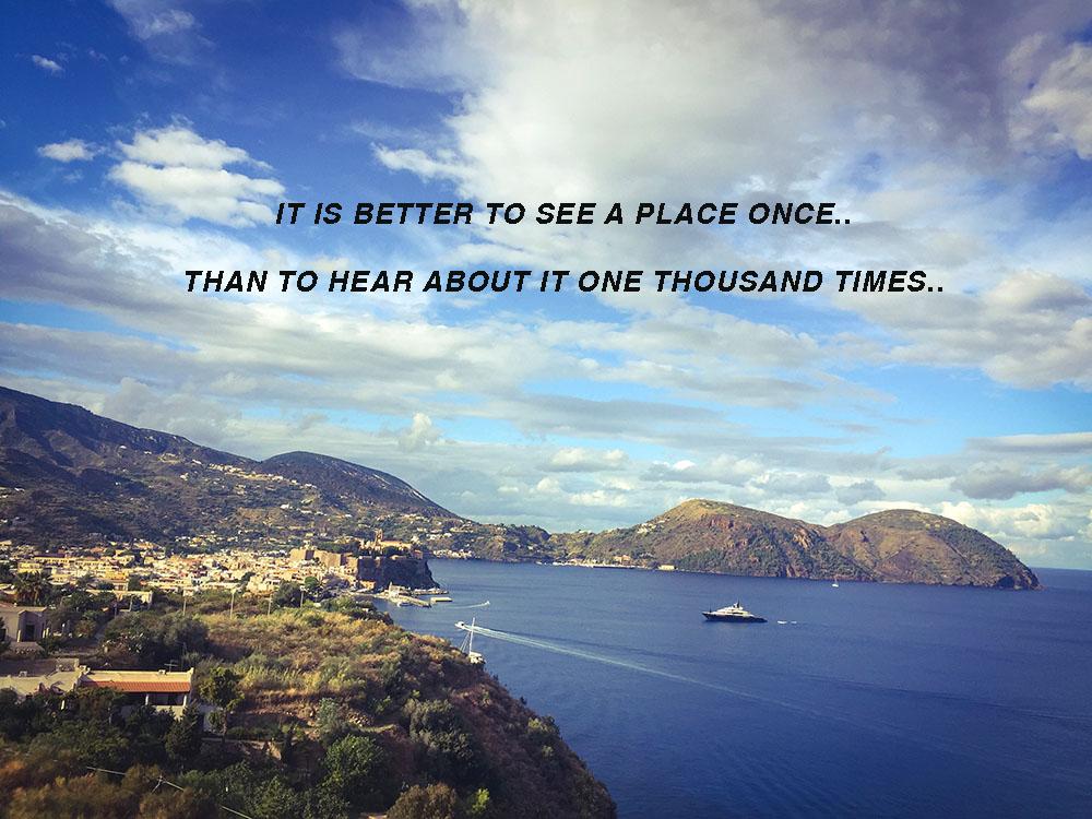 why visit lipari | Villa Sea Rose
